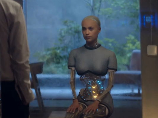 Ex Machina, 2015, Regie Alex Garland (Screenshot)