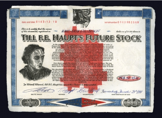 Druckgrafik Till F.E. Haupt's Future Stock