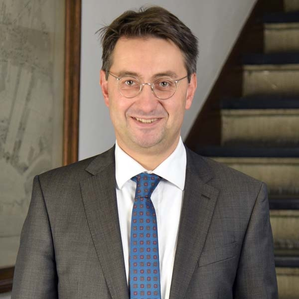 Ansgar Wimmer, Alfred Toepfer Stiftung F.V.S., Chairperson of the Board. Photo: Elke Schneider