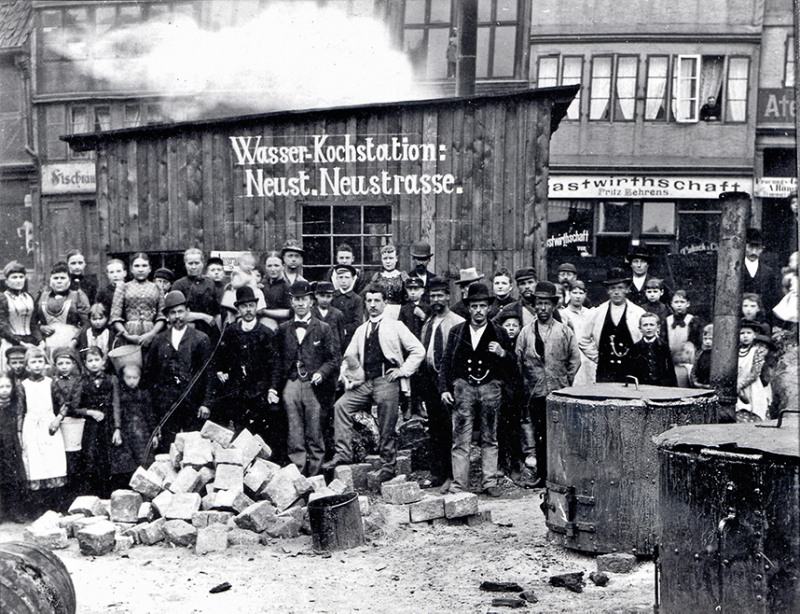 Cholera in Hamburg